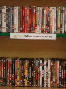 DVDs of Italian films to borrow