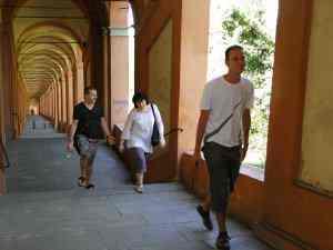 Walking Up To San Luca