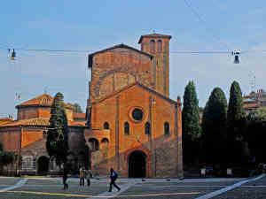 The beautiful Piazza Santa Stefano