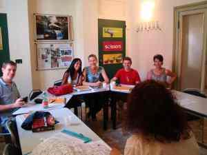 Le aule della nostra scuola di italiano a Bologna sono la sede dei nostri corsi di lingua italiana