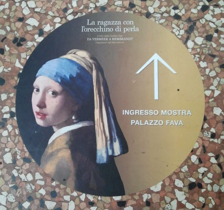 'Girl with a Pearl Earring' fever hits Bologna!